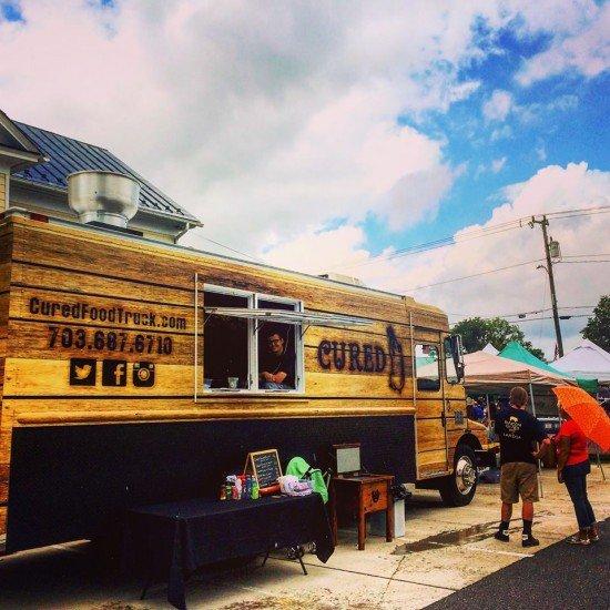 Cured food truck in Northern Virginia