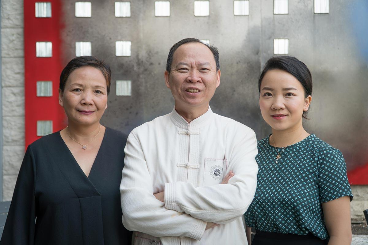 Lisa Chang, Peter Chang and Lydia Chang will open Mama Chang // Photo by Eddie Kang