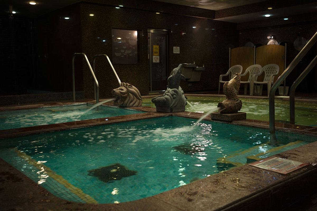 pools in korean spa