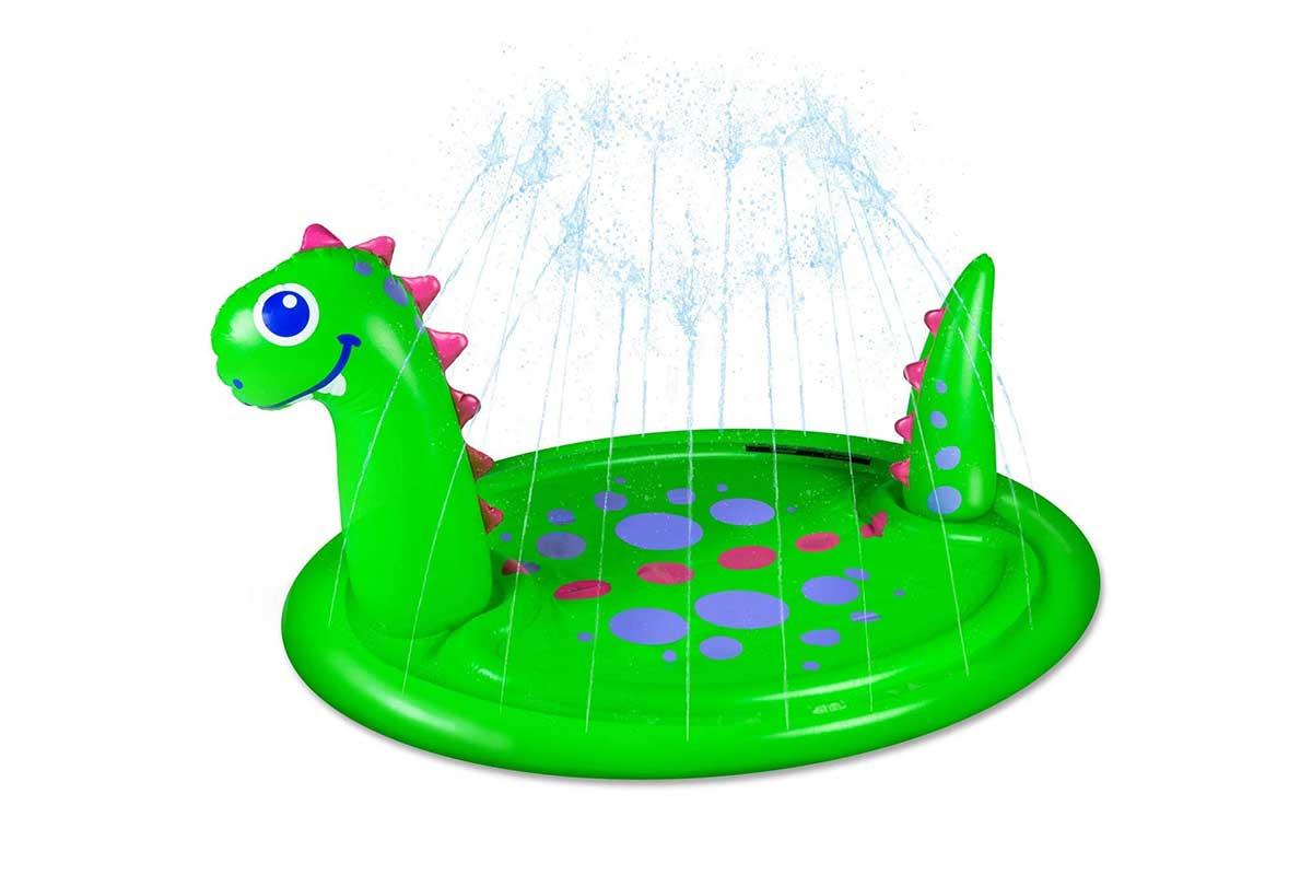 dinosaur splash pad